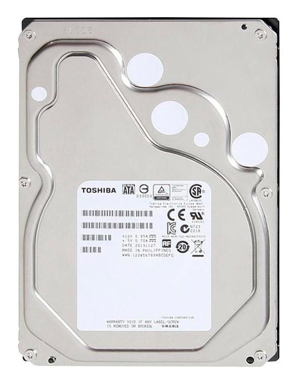 "Жесткий диск Toshiba SAS 3.0 6Tb MG06SCA600E Enterprise Capacity (7200rpm) 256Mb 3.5"""