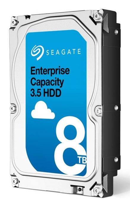 "Жесткий диск Seagate Original SAS 3.0 8Tb ST8000NM0075 Exos 512E (7200rpm) 256Mb 3.5"""