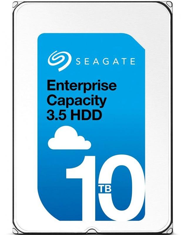"Жесткий диск Seagate Original SAS 3.0 10Tb ST10000NM0096 Exos 512E (7200rpm) 256Mb 3.5"""