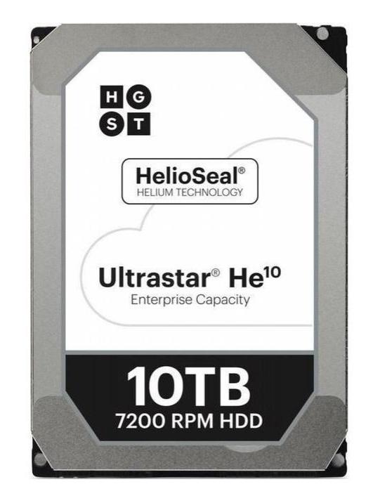 "Жесткий диск WD Original SAS 3.0 10Tb 0F27354 HUH721010AL5204 Ultrastar DC HC510 (7200rpm) 256Mb 3.5"""