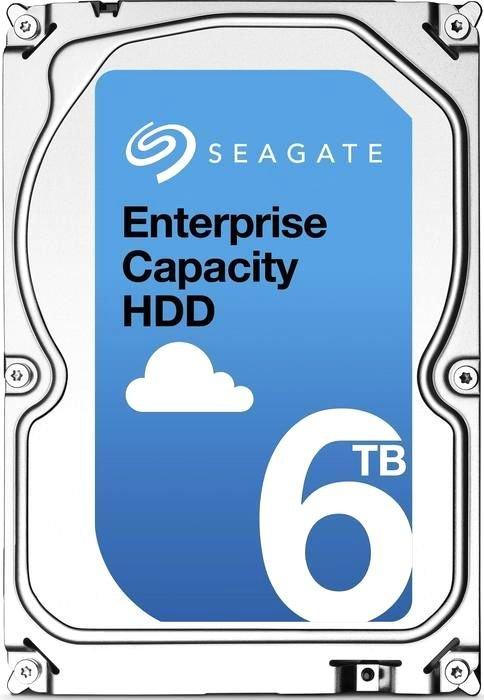 "Жесткий диск Seagate Original SAS 6Tb ST6000NM0095 Exos (7200rpm) 256Mb 3.5"""