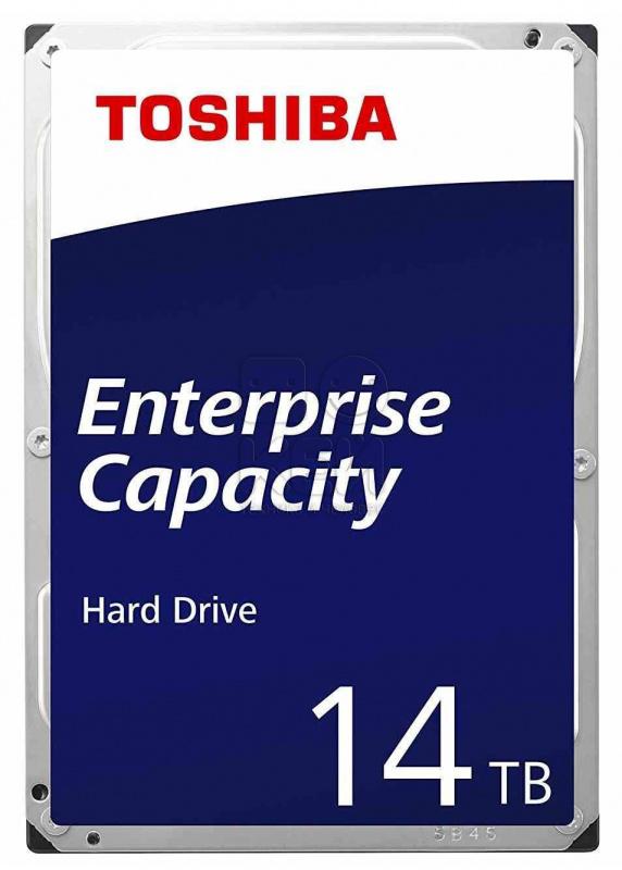 "Жесткий диск Toshiba SAS 3.0 14Tb MG07SCA14TE Enterprise Capacity (7200rpm) 256Mb 3.5"""