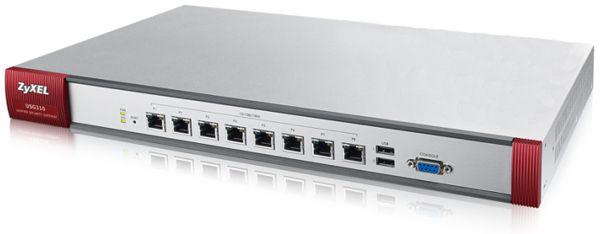 Межсетевой экран Zyxel USG310-RU0102F 10/100/1000BASE-TX серебристый