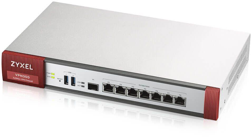 Межсетевой экран Zyxel ZyWALL VPN300 (VPN300-RU0101F) 10/100/1000BASE-TX/SFP