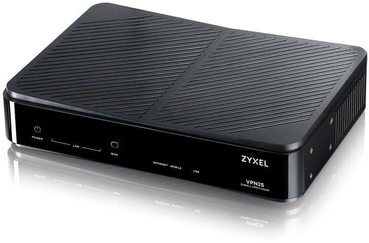 Сетевой экран Zyxel ZyWALL VPN2S (VPN2S-RU0101F) 10/100/1000BASE-TX
