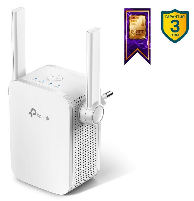 Повторитель беспроводного сигнала TP-Link RE305 AC1200 Wi-Fi белый