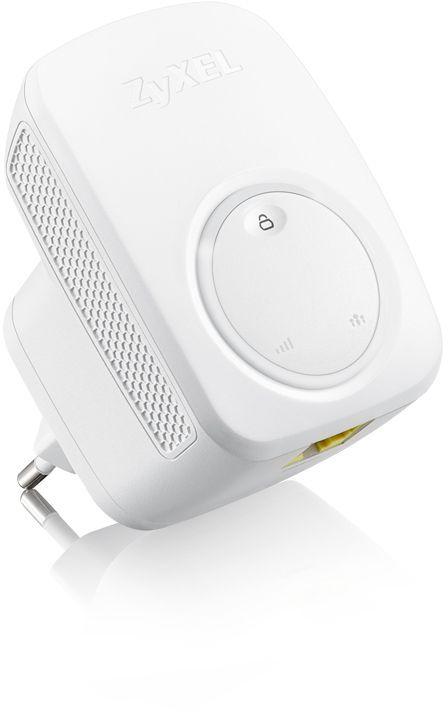 Повторитель беспроводного сигнала Zyxel WRE2206 (WRE2206-EU0101F) N300 Wi-Fi белый (плохая упаковка)