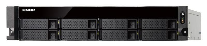 Сетевое хранилище NAS Qnap TS-853BU-RP-4G 8-bay стоечный Celeron J3455