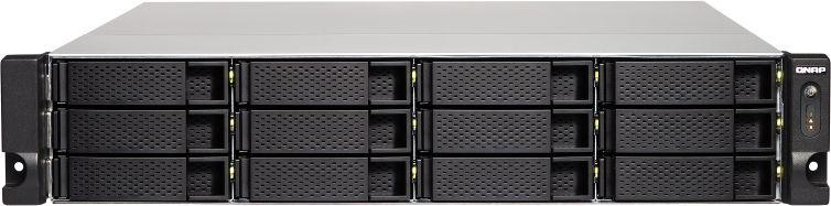 Сетевое хранилище NAS Qnap Original TS-1253BU-RP-4G 12-bay (плохая упаковка)