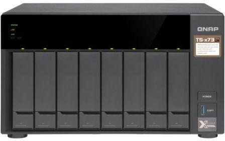 Сетевое хранилище NAS Qnap TS-873-4G 8-bay настольный R-Series RX-421ND