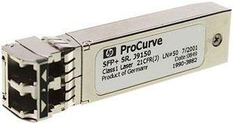 Трансивер HPE J9150D Aruba 10G SFP+ LC SR 300m MMF XCVR