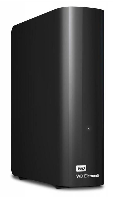 "Жесткий диск WD Original USB 3.0 4Tb WDBWLG0040HBK-EESN Elements Desktop 3.5"" черный"