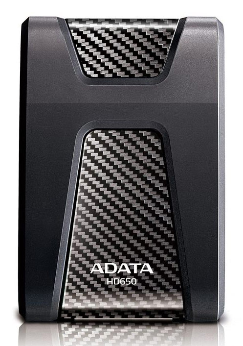 "Жесткий диск A-Data USB 3.0 2Tb AHD650-2TU3-CBK DashDrive Durable 2.5"" черный"