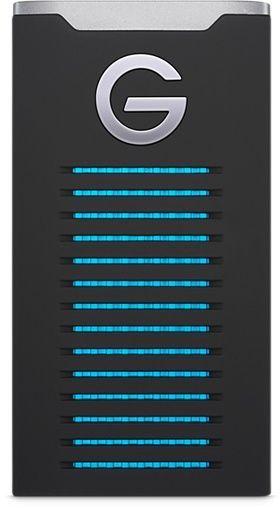 """Жесткий диск SSD WD USB-C 2000Gb 0G06057 G-Drive Mobile 3.5"""" черный (плохая упаковка)"""