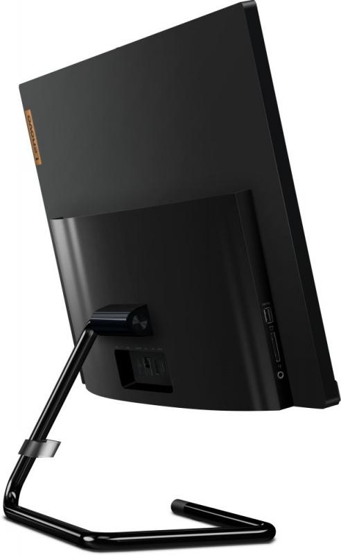 "Моноблок Lenovo IdeaCentre A340-24IWL 23.8"" Full HD i3 10110U (2.1)/8Gb/1Tb 5.4k/SSD128Gb/UHDG/DVDRW/Windows 10 Home/GbitEth/WiFi/BT/65W/клавиатура/мышь/Cam/черный 1920x1080"
