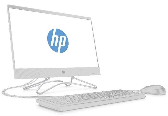 "Моноблок HP 200 G3 21.5"" Full HD i3 8130U (2.2)/4Gb/1Tb 7.2k/UHDG 620/DVDRW/Free DOS/GbitEth/WiFi/65W/клавиатура/мышь/белый 1920x1080"