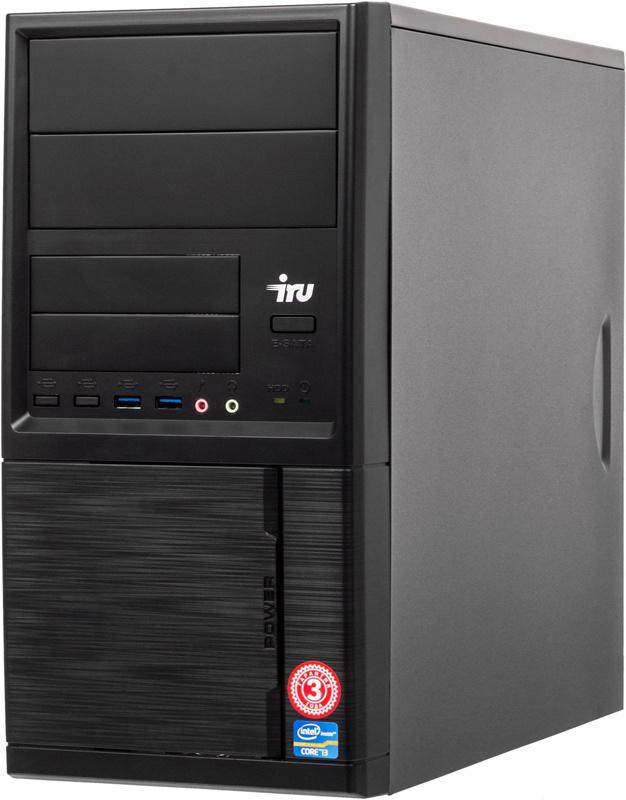 ПК IRU Office 315 MT i5 8400/8Gb/1Tb 7.2k/UHDG 630/W10Pro64/черный (плохая упаковка)