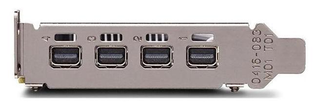 Видеокарта Dell PCI-E Quadro P1000 nVidia Quadro P1000 4096Mb 128bit GDDR5/mDPx4 oem
