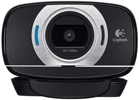 Камера Web Logitech HD C615 черный 2Mpix (1920x1080) USB2.0 с микрофоном (плохая упаковка)