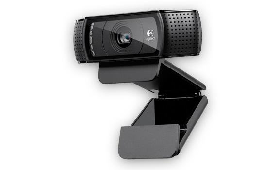 Камера Web Logitech HD Pro C920 черный 2Mpix USB2.0 с микрофоном