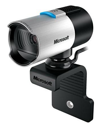 Камера Web Microsoft LifeCam Studio серебристый USB2.0 с микрофоном