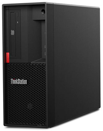 ПК Lenovo ThinkStation P330 MT i7 9700 (3)/16Gb/SSD256Gb/P2200 5Gb/DVDRW/CR/Windows 10 Professional 64/GbitEth/250W/клавиатура/мышь/черный