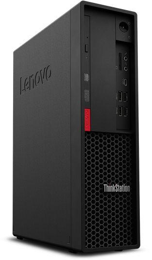 ПК Lenovo ThinkStation P330 SFF i7 9700 (3)/16Gb/SSD256Gb/P400 2Gb/DVDRW/CR/Windows 10 Professional 64/GbitEth/260W/клавиатура/мышь/черный