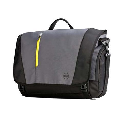 """Сумка для ноутбука 17"""" Dell 460-BBKO черный/серый нейлон/полиэстер"""