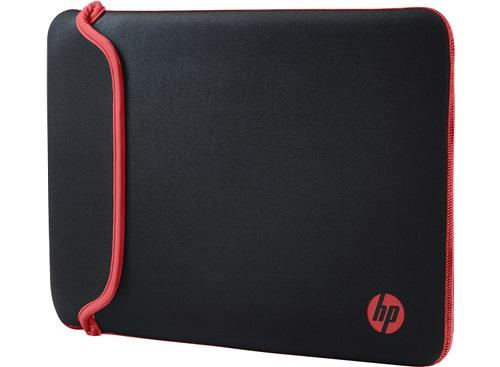 """Чехол для ноутбука 14"""" HP Chroma черный/красный неопрен (V5C26AA)"""