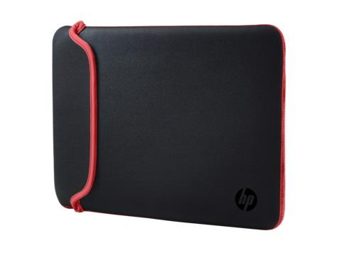 """Чехол для ноутбука 15.6"""" HP Chroma черный/красный неопрен (V5C30AA)"""