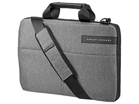 """Сумка для ноутбука 14"""" HP Signature Slim Topload черный/серый синтетика (L6V67AA)"""