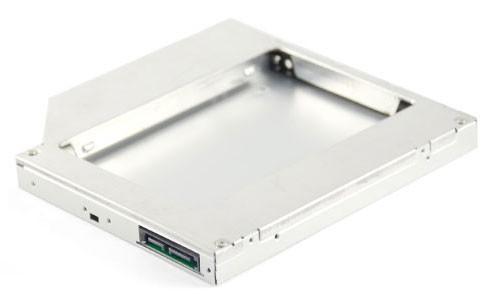 "Сменный бокс для HDD AgeStar SSMR2S SATA металл серебристый 2.5"""