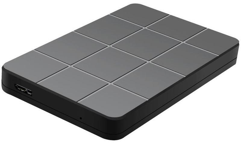 "Внешний корпус для HDD AgeStar 3UB2P1 SATA III пластик черный 2.5"""