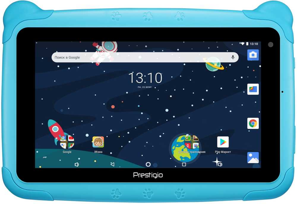 "Планшет Prestigio Smartkids 3997 3126c (1.3) 4C/RAM1Gb/ROM16Gb 7"" IPS 1024x600/Android 8.1/голубой/2Mpix/0.3Mpix/BT/WiFi/Touch/microSD 32Gb/minUSB/2500mAh/72hr/200hrs"