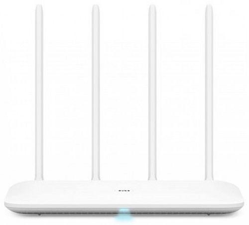Роутер беспроводной Xiaomi Mi WiFi Router 4 (4) 10/100/1000BASE-TX белый