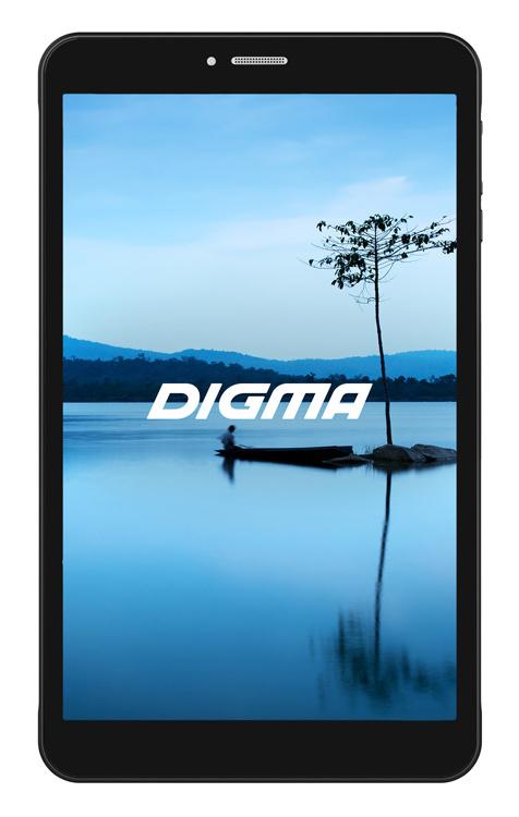 "Планшет Digma Optima 8027 3G SC7731E (1.3) 4C/RAM1Gb/ROM16Gb 8"" IPS 1280x800/3G/Android 8.1/черный/2Mpix/0.3Mpix/BT/GPS/WiFi/Touch/microSD 64Gb/minUSB/3500mAh"