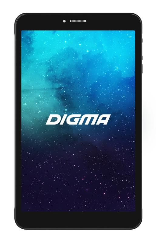 "Планшет Digma Plane 8595 3G SC7731E (1.3) 4C/RAM2Gb/ROM16Gb 8"" IPS 1280x800/3G/Android 9.0/черный/2Mpix/0.3Mpix/BT/GPS/WiFi/Touch/microSD 128Gb/minUSB/3500mAh"
