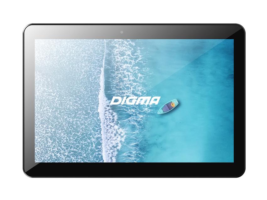 "Планшет Digma Plane 1596 3G SC7731E (1.3) 4C/RAM2Gb/ROM16Gb 10.1"" IPS 1280x800/3G/Android 9.0/черный/2Mpix/0.3Mpix/BT/GPS/WiFi/Touch/microSD 64Gb/minUSB/4700mAh"