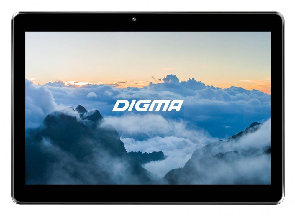 "Планшет Digma Plane 1585S 4G SC9832E (1.3) 4C/RAM1Gb/ROM8Gb 10.1"" IPS 1280x800/3G/4G/Android 8.1/черный/2Mpix/0.3Mpix/BT/GPS/WiFi/Touch/microSD 128Gb/minUSB/5000mAh"