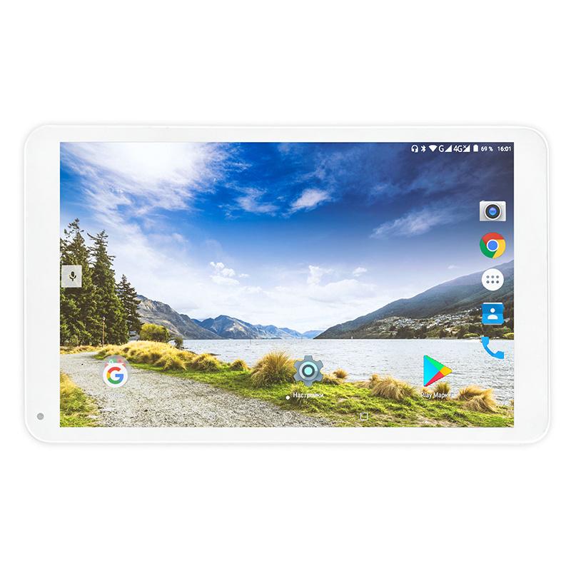 "Планшет Turbo TurboPad 1015 Cortex A7 (1.3) 4C/RAM1Gb/ROM16Gb 10.1"" IPS 1280x800/3G/Android 9.0/серебристый/2Mpix/0.3Mpix/BT/GPS/WiFi/Touch/microSD 32Gb/GPRS/EDGE/minUSB/5000mAh"