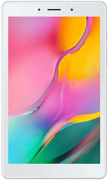 "Планшет Samsung Galaxy Tab A SM-T295 (2.0) 4C/RAM2Gb/ROM32Gb 8"" TFT 1280x800/3G/4G/Android 9.0/серебристый/8Mpix/2Mpix/BT/GPS/WiFi/Touch/microSD 512Gb/minUSB/5100mAh"