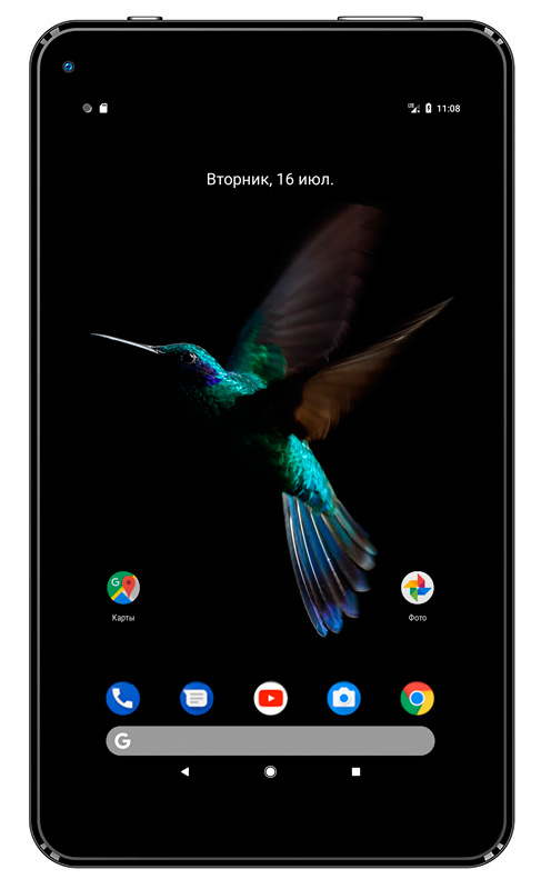 "Планшет Digma Optima 7013 RK3126 (1.2) 4C/RAM1Gb/ROM8Gb 7"" IPS 1024x600/Android 6.0/черный/0.3Mpix/BT/WiFi/Touch/microSD 64Gb/minUSB/2200mAh"