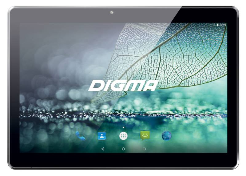 "Планшет Digma Plane 1523 3G MT8321 (1.3) 4C/RAM1Gb/ROM8Gb 10.1"" IPS 1280x800/3G/Android 7.0/черный/0.3Mpix/0.3Mpix/BT/GPS/WiFi/Touch/microSD 64Gb/minUSB/4000mAh"