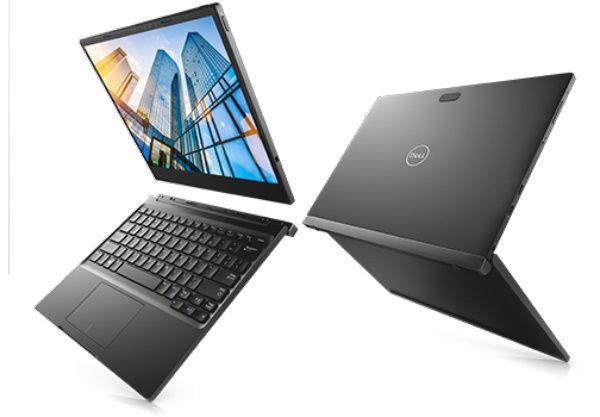 "Планшет Dell Latitude 7285 Core i5 7Y57 (1.2) 2C/RAM8Gb/ROM256Gb 12.3"" IPS 2880x1920/3G/4G/Windows 10 Professional 64/черный/8Mpix/5Mpix/BT/WiFi/Touch"