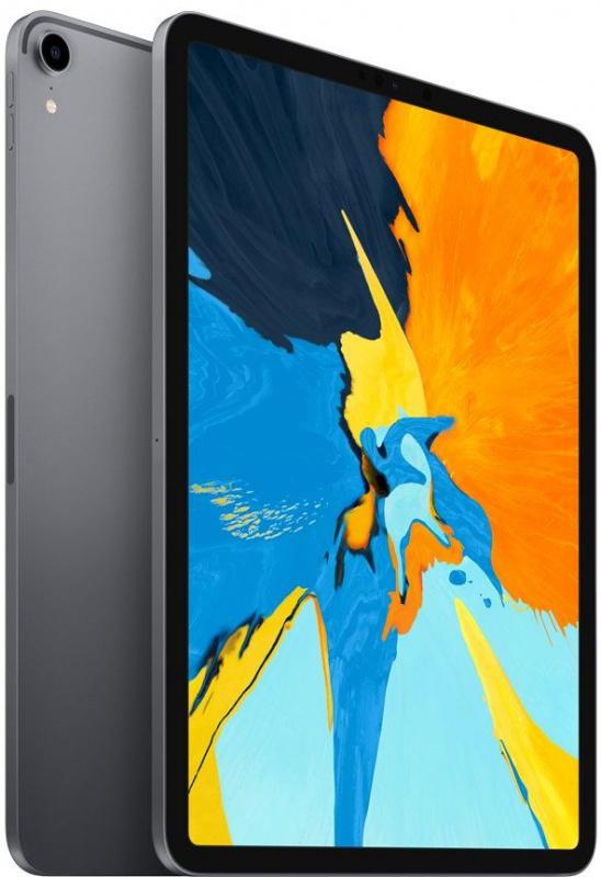 "Планшет Apple iPad Pro MU1F2RU/A A12X Bionic/ROM512Gb 11"" IPS 2388x1668/3G/4G/iOS/темно-серый/12Mpix/7Mpix/BT/GPS/WiFi/Touch/9hr"