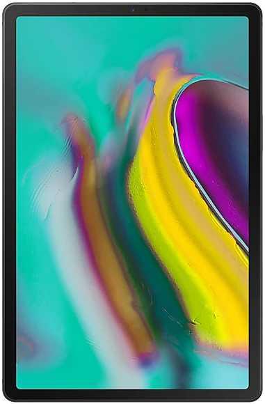 "Планшет Samsung Galaxy Tab S5e SM-T725N (2.0) 8C/RAM4Gb/ROM64Gb 10.5"" Super AMOLED 2560x1600/3G/4G/Android 9.0/черный/13Mpix/8Mpix/BT/GPS/WiFi/Touch/microSD 512Gb/7040mAh"