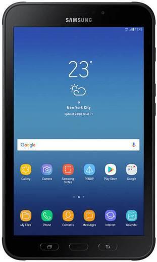 "Планшет Samsung Tab Active LTE SM-T395 7870 (1.6) 8C/RAM3Gb/ROM16Gb 8"" TFT 1280x800/3G/4G/Android 7.1/черный/серый/8Mpix/5Mpix/BT/GPS/WiFi/Touch/microSD 256Gb/minUSB/4450mAh"