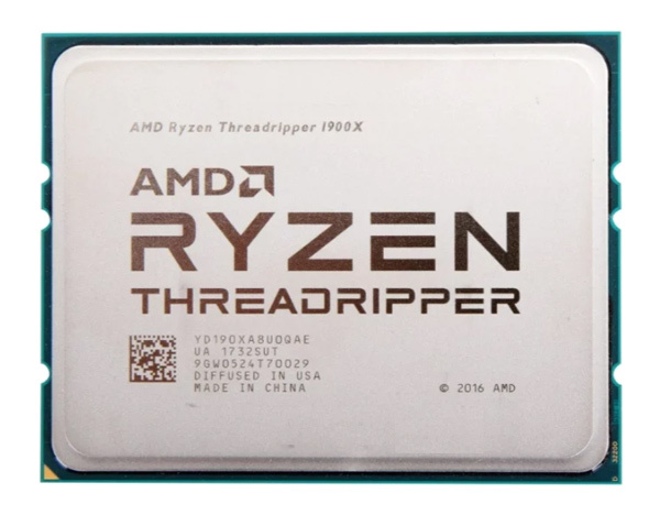 Процессор AMD Ryzen Threadripper 1900X TR4 (YD190XA8AEWOF) (3.8GHz/100MHz) Box w/o cooler