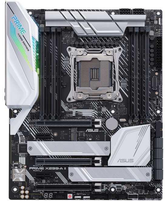 Материнская плата Asus PRIME X299-A II Soc-2066 Intel X299 8xDDR4 ATX AC`97 8ch(7.1) GbLAN RAID