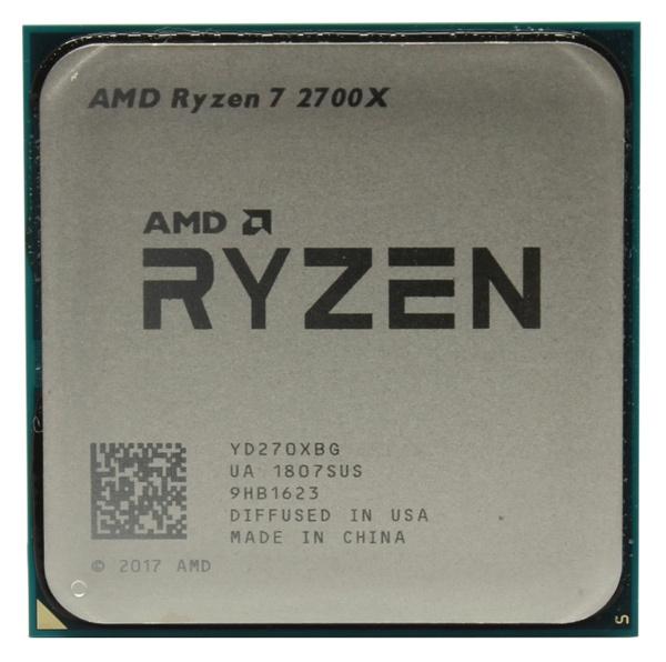 Процессор AMD Ryzen 7 2700X AM4 (YD270XBGAFBOX) (3.7GHz) Box